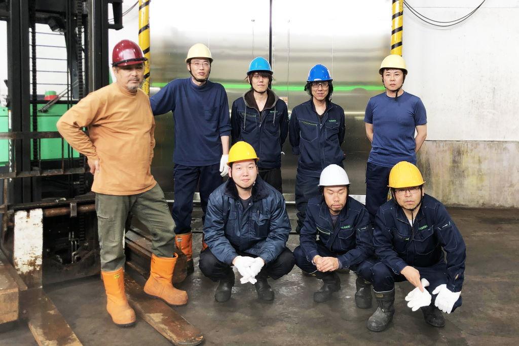 TS冷蔵株式会社 就業風景